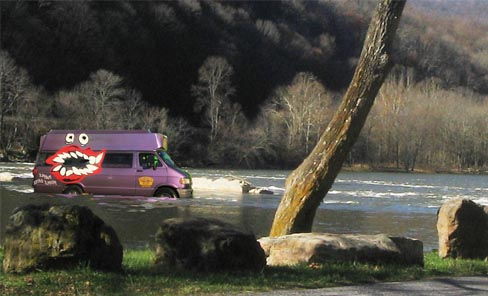 HOOPTIE RIVER rescue